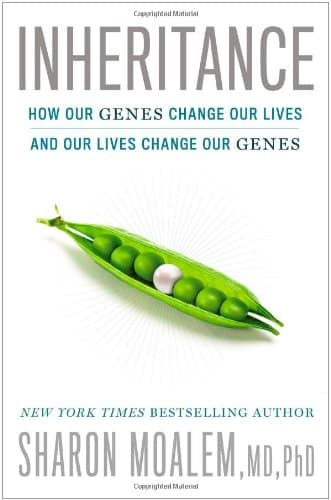 picture of a book about our genes