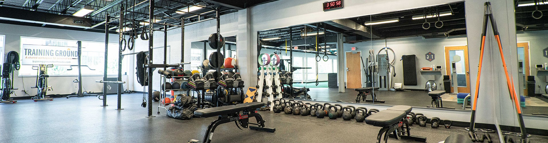 picture of inside training ground at Cohen Health & Performance