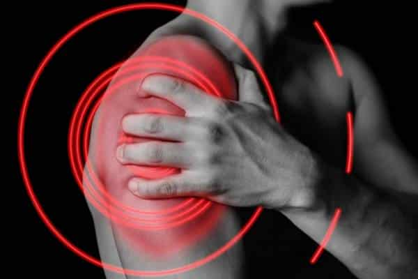 diagram of shoulder pain